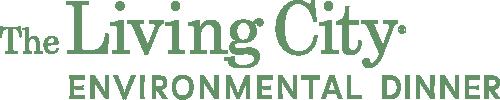 The Living City Environmental Dinner logo