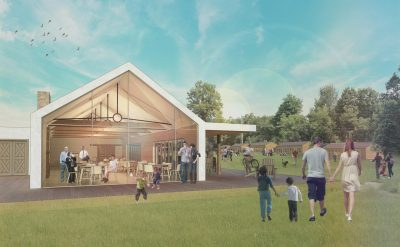 artist rendering of Bolton Camp