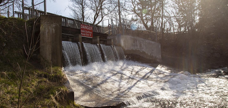 Albion Hills Dam