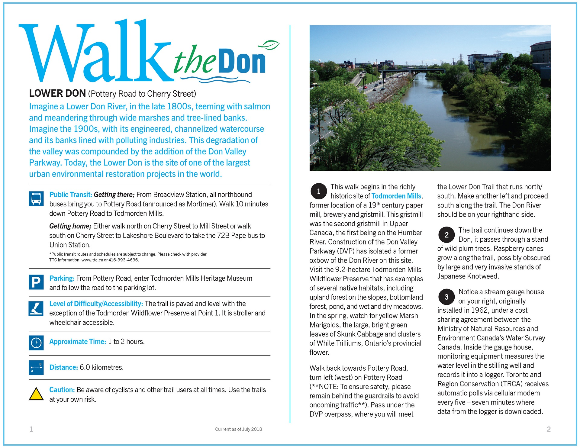 Walk the Don - Lower Don Trail Guide